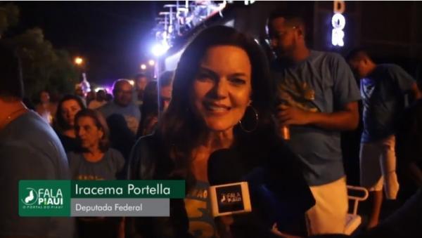 Entrevista com a Deputado Federal Iracema Portella no Zé Pereira de Amarante