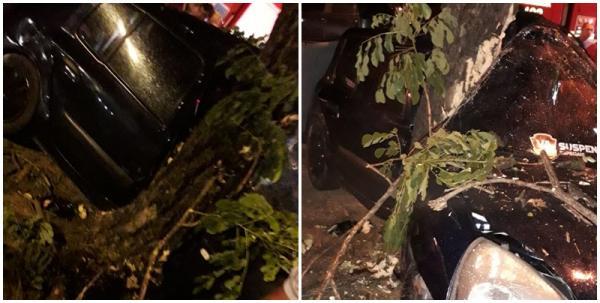 Criança morre e pai fica ferido em grave acidente em Teresina