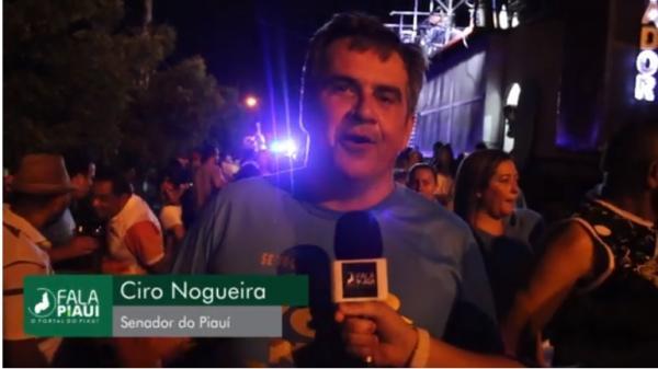 Entrevista com senador Ciro Nogueira no Zé Pereira de Amarante