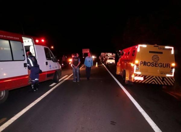 Bandidos voltam a atacar carro-forte na BR 316