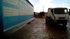 Moradores registram chuva de granizo no Sul do Piauí