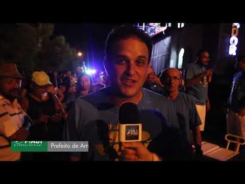 Entrevista com prefeito do município de Amarante Diego Teixeira