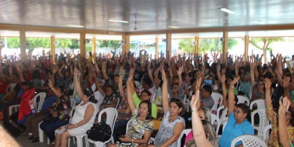 Sinte inicia greve dos professores nas escolas estaduais nesta sexta-feira