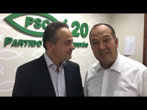 O PSC acerta vinda de Paulo Rabello ao Piauí