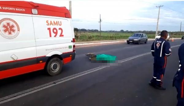 Ciclista morre após ser atropelado por veículo na zona norte de Teresina